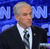 Ron Paul agitated