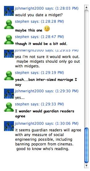 Stephen chat