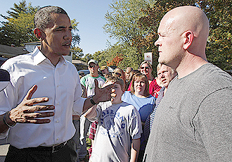 Obama bullshits Joe the plumber
